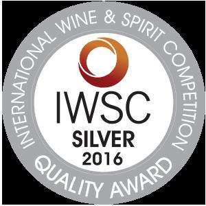 IWSC 2016 Silver Winner