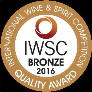 IWSC 2016 Bronze Winner
