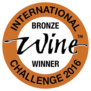 IWC International Wine Challenge 2016 Bronze Winner