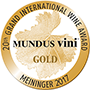 Gold Mundus Vini Spring Tasting 2017