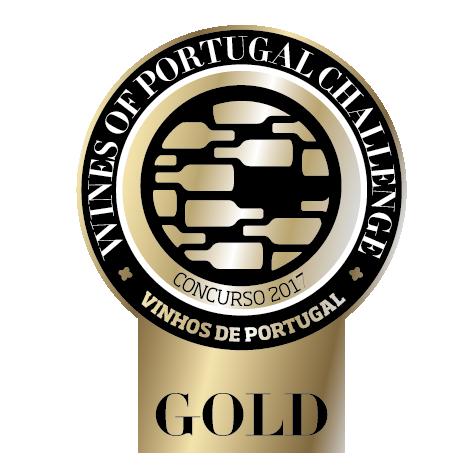 Medalha de Ouro Concurso Vinhos de Portugal 2017