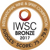 IWSC 2017 Medalha de Bronze
