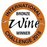 IWC International Wine Challenge 2018 - Bronze