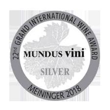 Mundus Vini 2018 - Silver